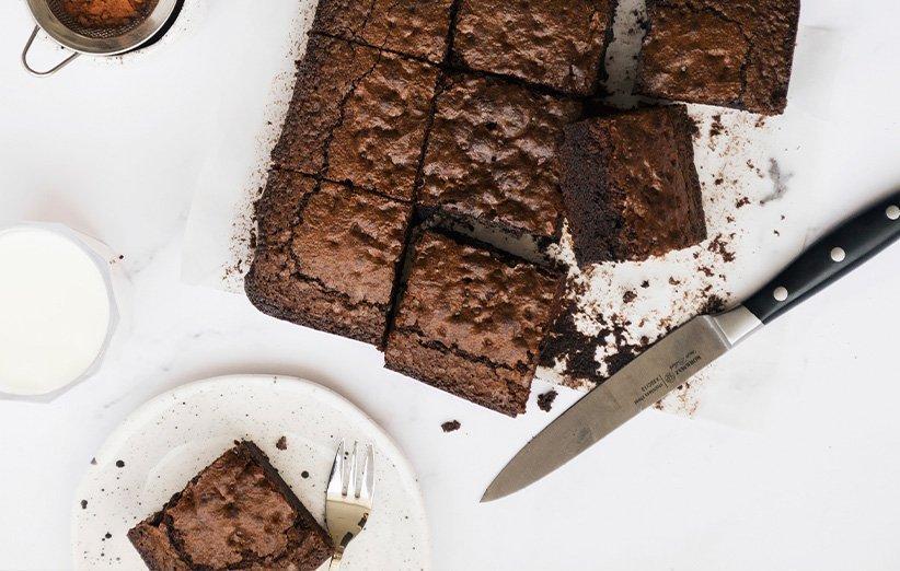 چطور کیک براونی درست کنیم؟