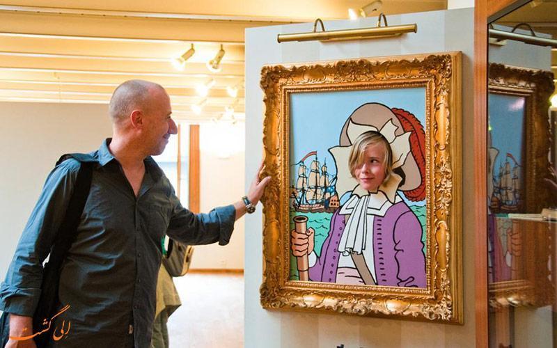 موزه کمیک استریپ بروکسل، موزه ای پُر از بهترین آثار هنر کمیک در دنیا!