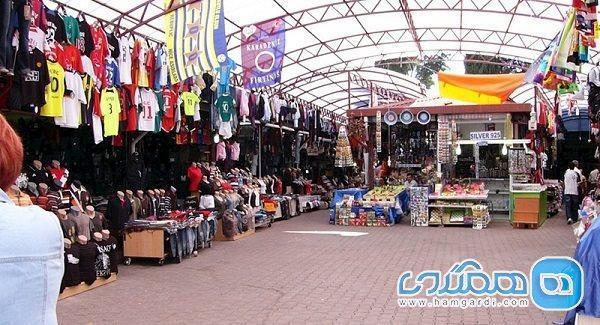 معرفی شماری از بازارهای محلی و سنتی آنتالیا