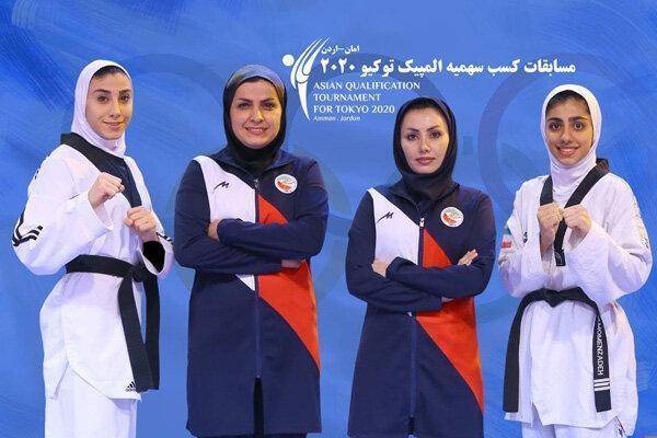 تلاش دختران ایران برای سهمیه المپیک، مومن زاده و کیانی در اردن